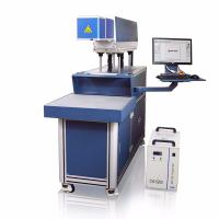 China CO2 Galvo Laser Marking And Engraving Machine , Hide Diode Laser Marking Machine wholesale