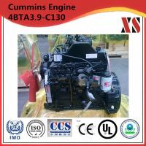 China Cummins diesel engine for stationary pump 4BTA3.9-C130 on sale