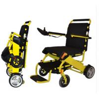 Buy cheap Folding Lightweight Electric Power Wheelchair with lithium battery from wholesalers