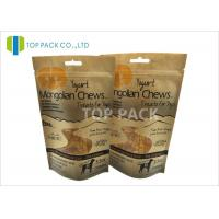China Snack Food Paper 3.5oz Stand Up Zipper Packaging Waterproof Free Shape Window wholesale