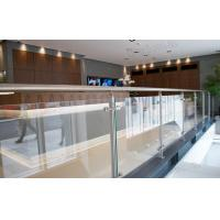 China hot sale project building balcony steel glass railing systems on sale