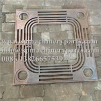 China Creative new deisgn hardware parts cheap price 60 Dia. x 1.25 cast iron tree grate baked on oil finish wholesale