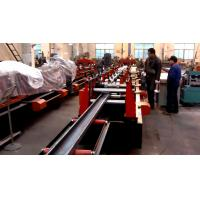 China Galvanized Steel C / Z Purlin Roll Forming Machine , C Purlin Production Line wholesale