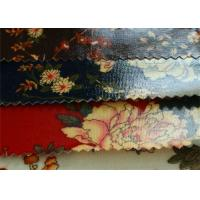 China 12OZ Transparent PVC Coated Cotton Canvas / Printed With PVC Fabric For Bags wholesale