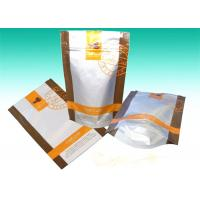 China Clear Matte Aluminum Foil Bags Stand Up Zipper Dried Foods Packaging Bag on sale