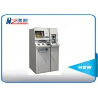 Buy cheap Interactive free stand bill payment kiosk with cash acceptor from wholesalers