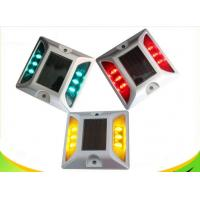 China IP68 Full Color Solar LED Road Stud With Rechargeable Ni - MH Battery wholesale