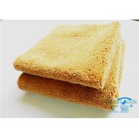 China 15mm High Pile Micro Fiber Cleaning Cloth Towel No Fading For Bathroom wholesale