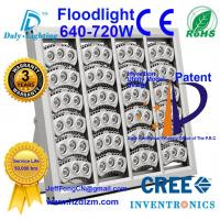LED Flood Light 640-720W with CE,RoHS Certified and Best Cooling Efficiency Floodlight Made in China