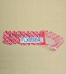 China Customise Security Tape wholesale