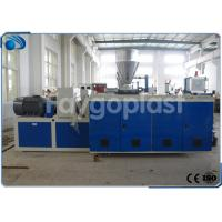 China Co Rotating Plastic Extruder Machine For PVC Compound / PVC Pipe Making Twin Screw wholesale