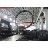 China Max OD 5000mm A350 LF3 LF6 Carbon Steel Forging Rings Rough Machined Q+T Heat Treatment wholesale
