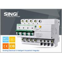 China DZ47LE-631A - 63A RCCB Circuit breaker 4P / 63A / 230VAC , electric mcb wholesale