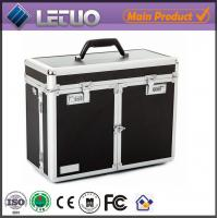 China LT-BC01 wholesale Black cosmetic style case china supplier make up train case wholesale
