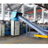 China 380V Plastic Pelletizing Machine / PP or PE Film Crushing And Cleaning Production Line wholesale