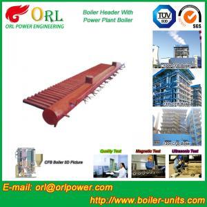 China Electrical CFB Boiler Header / Water Header With Natural Circulation wholesale