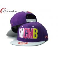 China Custom YMCMB Childrens Baseball Caps , 5 Panel Teenager Hip Hop Caps wholesale
