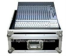 China Aluminum Flight Case With Wheels / Handles Plastic 2U to 24U Rack Case wholesale