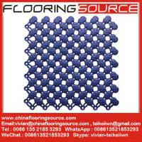 China Wet Area Matting Tiles Interlock pvc tiles keep wet areas clean and safe wholesale