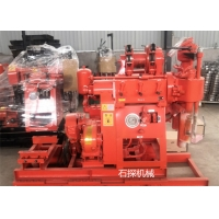 China Gk 200 Meters 15kw Hydraulic Water Well Drilling Rig Machine Portable wholesale