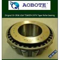 China Heavy duty Timken Tapered Roller Bearing for rolling mill machinery , Timken 2474 wholesale