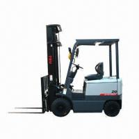 China Forklift/Electric Forklift/Forklift Truck with Maximum Lifting Capacity of 2 Tons wholesale