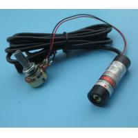 China output power adjustable 650nm 5mw red line laser module wholesale