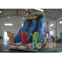 China Attractive Monkey Theme Inflatable Bouncer Combo and Slide for Kids CE EN14960 wholesale