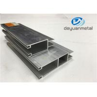 China Customized Sliding Open Style Aluminium Door Frames With 6063-T5 Length 3m - 6m wholesale