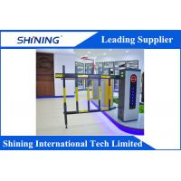 China Remote Control  Traffic Barrier Gate With Led Light For Car Parking System wholesale