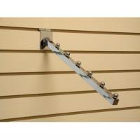 China Shop Display Accessories slat wall waterfall fittings system powder coated wholesale