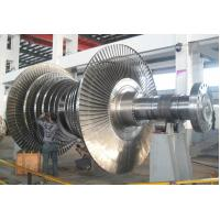 China 25Cr2Ni4MoV Turbo-Rotor Stream Turbine Rotor Forging 50T For GasTurbine Machine wholesale