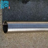 China Stainless Steel V shaped Profile Wire Well Screen wholesale