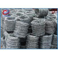 China High Tensile Steel Double Twist Barbed Wire Electro Galvanized wholesale