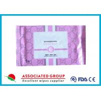 China Disposable Organic Smooth Feminine privateparts Hygiene Wipes With Fresh Scent wholesale
