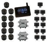 22 wheels 24h mornitor External Sensors Truck Tire Pressure Monitoring system FCC CE