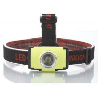 China Super bright ABS plastic led head flashlight With suitable head strap wholesale