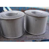 China Stainless Steel Furnace Conveyor Belt Compound Weave For Tunnel Custom Design wholesale