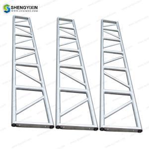 China Aluminum Spigot Portal Frame Stage Truss Catwalk Truss Concert Outdoor metal wedding stage lighting roof truss for sale wholesale