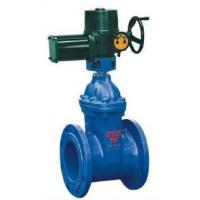 China Bolted Bonnet Non Rising Stem Flanged Gate Valve Cast Iron With Electric Actuator wholesale