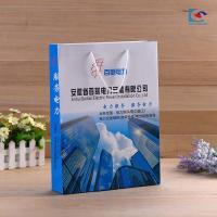 China Customs logo color printing art paper business gift paper bags Anniversary celebration paper bag wholesale
