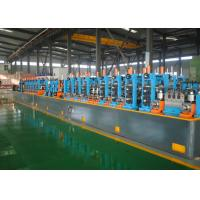 China Automatic Precision Tube Mill PLC Control Low Carbon Steel Raw Material wholesale