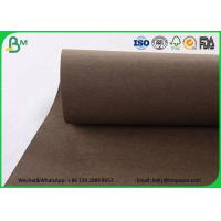 China Colorful Washable Kraft Liner Paper Roll Matte Surface Pink Washable Kraft Paper Bags wholesale