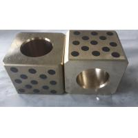JDB-P Flat guide bar, Bronze with solid lubricant plate,oiles guide plate self