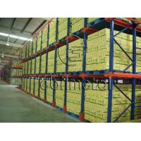 China High Density Pallet Storage Drive In Pallet Racking Corrosion Protection wholesale