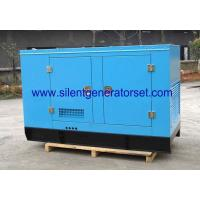 China AC Three Phase Mobile Diesel Generators / Electrical Soundproof Diesel Generator wholesale