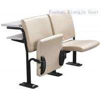 China Cold Rolled Steel Frame Geniune Leather with Foam School Desk And Chair With Writing Desk wholesale