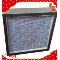 China 305x305x69mm aluminum frame active carbon V-bank panel filter for fan filter unit (FFU) wholesale