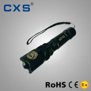 China Rechargeable IP65 Explosion Proof Flashlight Cree Led Police Flashlight wholesale