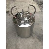 China Durable Home Brew Keg 2.5 Gallon Food Grade Stainless Steel Material wholesale